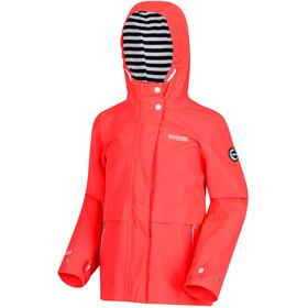 Regatta Bambalina Jacket Girls Fiery Coral